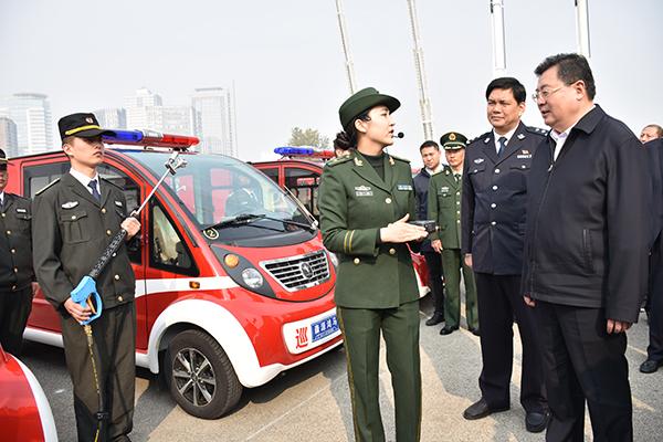 2017全省119消防宣传活动启动 厅长舒庆点赞微型消