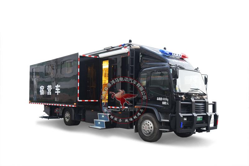 森源鸿马SMQ5180TSY型宿营车